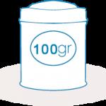 Lata 100 gr