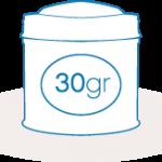 Lata 30 gr